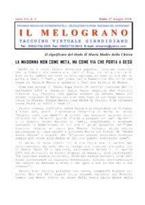 Il Melograno - 17 Maggio 2018