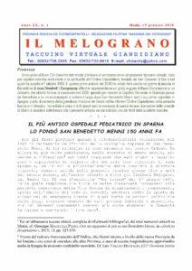 Il Melograno - Gennaio 2018