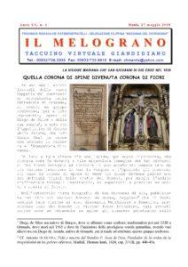 Il Melograno - 27 Maggio 2018