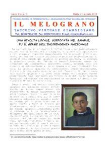 Il Melograno - 31 Maggio 2018