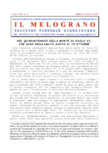 Il Melograno - Agosto 2018